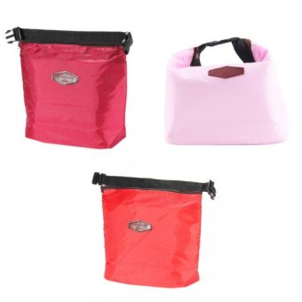 lconic Lunch Bag Set of 3 ( Maroon, Pink and Red ) Price Philippines