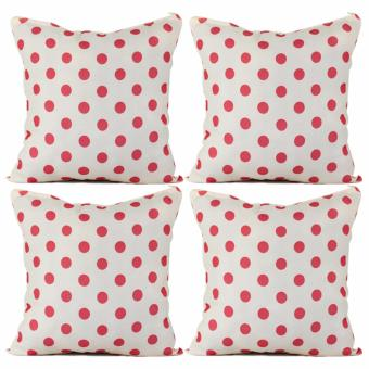 "Home Essentials TPC 32 Wesley Collection 16"" x 16"" Throw Pillow Case Set of 4 Price Philippines"
