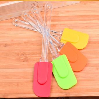 Harga Rising Star 4PCS Colorful Silicone Cream Spatula Butter Cake Tool Knife (Multicolor)