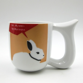 Multiple Choice Stoneage Mug - Say What? (Rabbit) Price Philippines