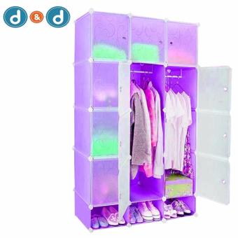 D&D Tupper Cabinet 12 Cubes Full Black DIY Wardrobe Price Philippines
