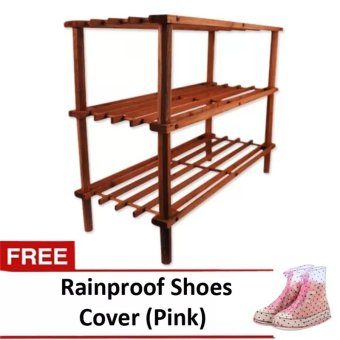 3 Layer Wooden Shoe Rack Price Philippines