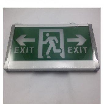 Harga Big Lite Exit Signage Z01GTE2 Modern LED Lighting