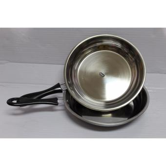 Ako 22 CM Frying Pan With Black Handle Set of 2 Price Philippines