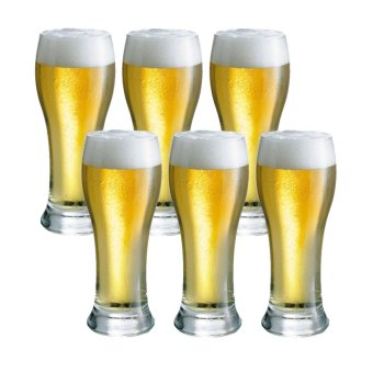 Harga Pilsner / Beer Glass / Juice Glass / Water Glass 320ml Set of 6 Glassware