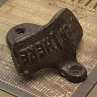 Vintage Iron Wall Mounted Beer Bottle Opener - intl Price Philippines