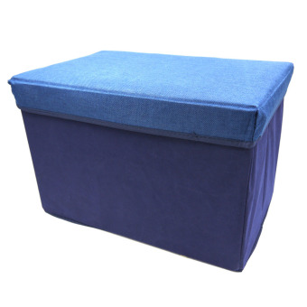 Ottoman Rectangular Storage Box (Blue) Price Philippines