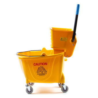 Eko 36L Mop Wringer Single Down Press (Yellow) Price Philippines