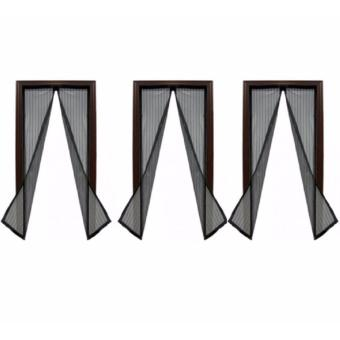 Magic Mesh Instant Screen Door Set of 3 (Black) Price Philippines