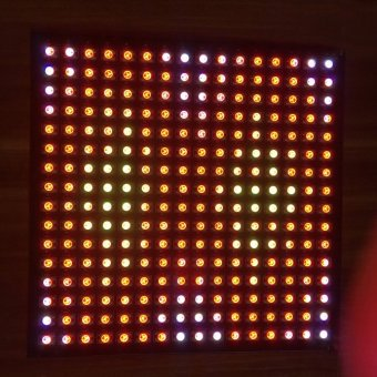 CatWalk 16*16 Pixels WS2811 WS2812B 5050 RGB LED Digital Flex Panel Light 5V (White) Price Philippines