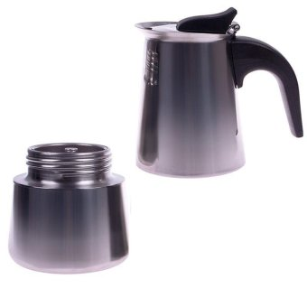 Harga BUYINCOINS Stainless Steel Moka Espresso Latte Percolator Pot
