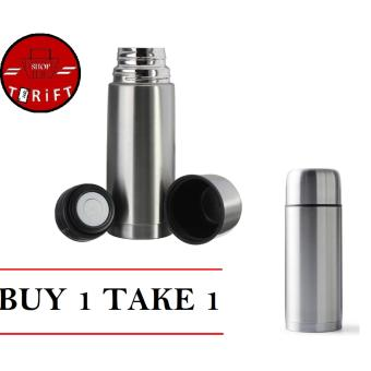 Harga SHOP AND THRIFT Stainless steel Vacuum Flask Thermos Bottle 0.5L BUY 1 TAKE 1