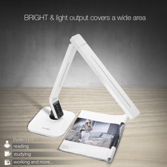 BlitzWolf BW-LT1 Eye Care Protection Smart LED Rotatable Dimmable Desk Lamp White US - intl Price Philippines