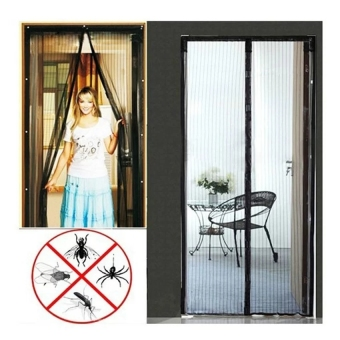 Magic Mesh Instant Screen Door (Black) Price Philippines