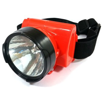 Universal Bright HeadLamp Head-Mounted LED Light (Red) Price Philippines