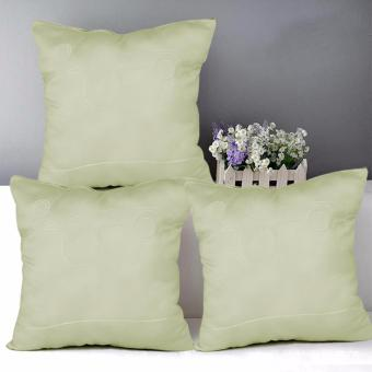 "Home Essentials Lustrous Punch 16"" x 16"" Throw Pillow Case Set of 3 Price Philippines"