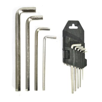 Harga QL-004 9-piece Allen Wrench Set
