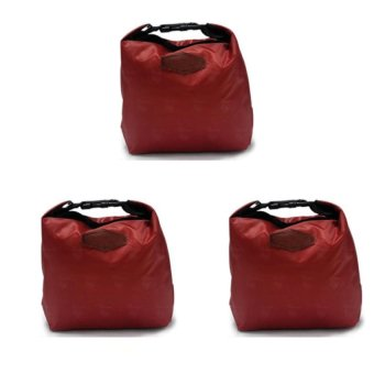 Iconic Lunch Bag set of 3 (Maroon) Price Philippines