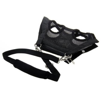 3 in 1 Multi-function Pet Dog Puppy Harness Carrier Bag Leash MeshBlack S - intl Price Philippines