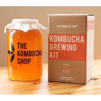 Kombucha Brewing Kit With Organic Kombucha Scoby. Includes Glass Brew Jar Organic Kombucha Loose Leaf Tea Temperature Gauge Organic Sugar And More Price Philippines