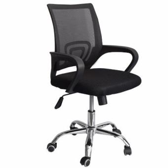Ergodynamic Mesh Chair 360˚ Swivel Function black mesh backrest (Black) Price Philippines