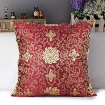 "Home Essentials Paisley Pattern 16"" x 16"" Satin Throw Pillow Case Price Philippines"