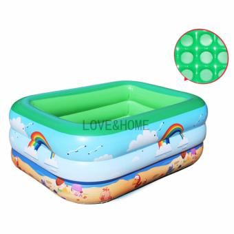 Harga LOVE&HOME Inflatable Swimming Pool for children (Green)