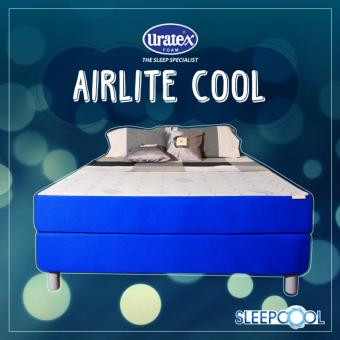 Uratex Airlite Mattress Cool 6x48x75 (Blue) Price Philippines
