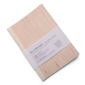 Beech Wood Ruled / Lined Notebook / Journal (Beige Wood) Price Philippines