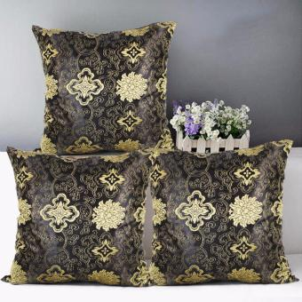 "Home Essentials Paisley Pattern 16"" x 16"" Satin Throw Pillow Case Set of 3 Price Philippines"