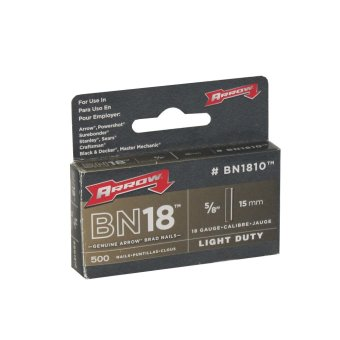 "Arrow Gun Tacker BN1810 5/8"" Brad Nail, Box of 500 Price Philippines"