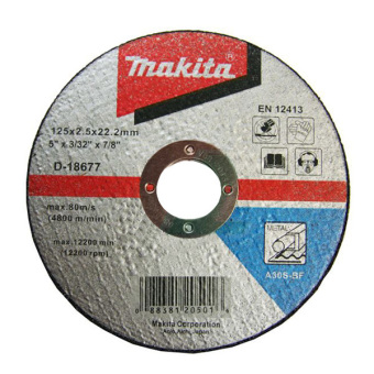 "Makita 5"" Cut-off Wheel D-18677 Pack of 10 Price Philippines"