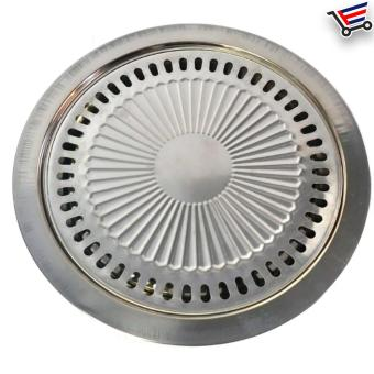 ... Indoor Stainless Steel Smokeless BBQ Grill - 3 ...