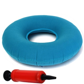 Inflatable Rubber Ring Round Seat Cushion Medical Hemorrhoid PillowDonut 34cm - intl