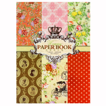 INSPIRE Elegant 24 Semi Gloss Patterned Papers Sheets CreativeScrapbooking Paper Pack #9 Price Philippines