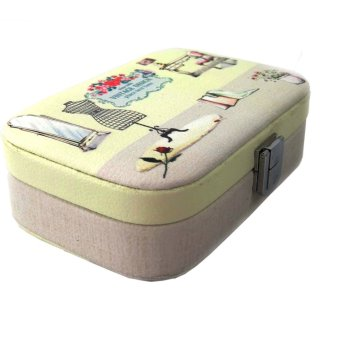 Inspire Vintage Print Design Jewelry Box (Small)
