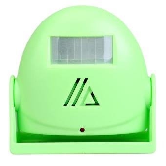 Intelligent and Greeting 10m Warning Motion Sensor Doorbell Door Bell Green