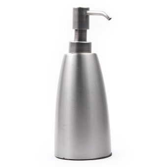 Interdesign Forma Stainless Steel Soap Pump (Silver)