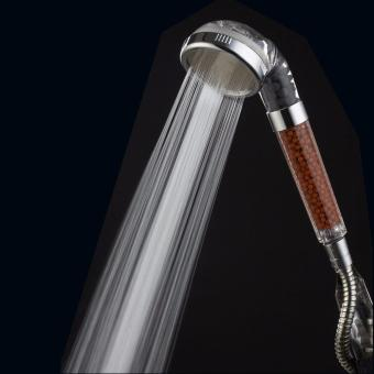 Ionic Filtration Handheld Shower Head, High Pressure Spa WaterSaving Shower head With Filter to Purify Water And Remove Chlorine