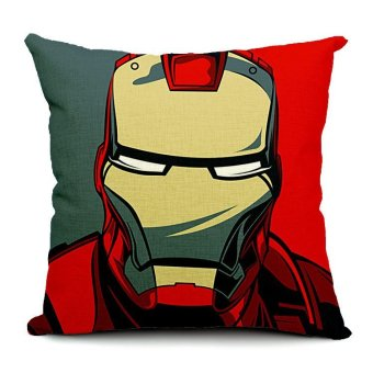 Ironman Pillow Cover Cotton Linen Cushion Case Price Philippines