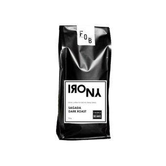Irony Sagada Dark Roast 500g Ground Coffee (Black)