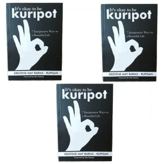It's Okay to be Kuripot Book It's Okay to be Kuripot (7 Inexpensive Ways to a Beautiful Life) Set of 3