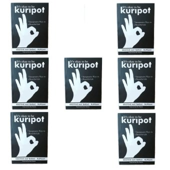 It's Okay to be Kuripot Book It's Okay to be Kuripot (7 Inexpensive Ways to a Beautiful Life) Set of 7