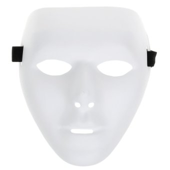 Jabbawockeez Hip-hop Mask for Halloween Cosplay Costume Party - White Price Philippines