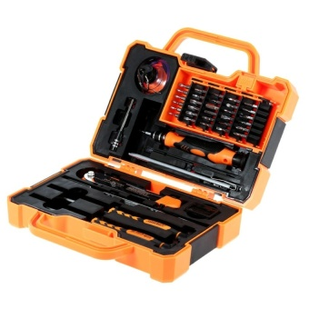 Jakemy JM-8139 45 in 1 Professional Precise Screwdriver Set RepairKit Opening Tools for Cellphone Computer Electronic Maintenance -intl Price Philippines