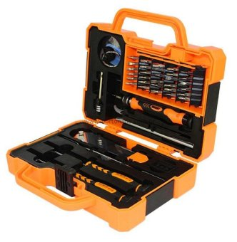 JAKEMY JM-8139 Anti-drop Electronic 43 in 1 Precision ScrewdriverHardware Repair Open Tools Set Price Philippines