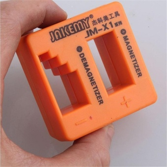 JAKEMY JM-X2 Magnetizer Demagnetizer Professional Orange ForScrewdriver Steel - intl Price Philippines