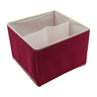 J&C 3in1 Storage Box with Handle (pink) Price Philippines