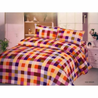 J&C Bedsheet Set (Colored Squares) Price Philippines