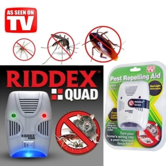 J&C Riddex Quad Pest Repelling Aid Repeller Control Insect RatRepellent (As Seen On Tv)